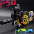 P90 Graffiti Edição Ao Vivo CS Assalto Snipe Arma de Brinquedo Elétrico Rajadas de Água Bala Arma arma Macio Engraçado Brinquedos Ao Ar Livre Para Kid