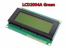 Free shipping LCD Board 2004 20*4 LCD 20X4 5V Green screen LCD2004 display LCD module LCD 2004