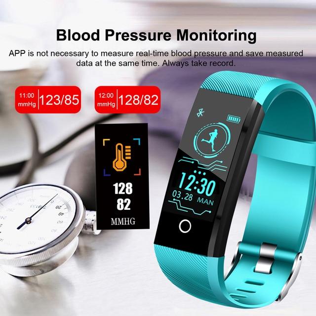 New Smart Watch For Men Women Blood Pressure Heart Rate Monitor Fitness Tracker 2