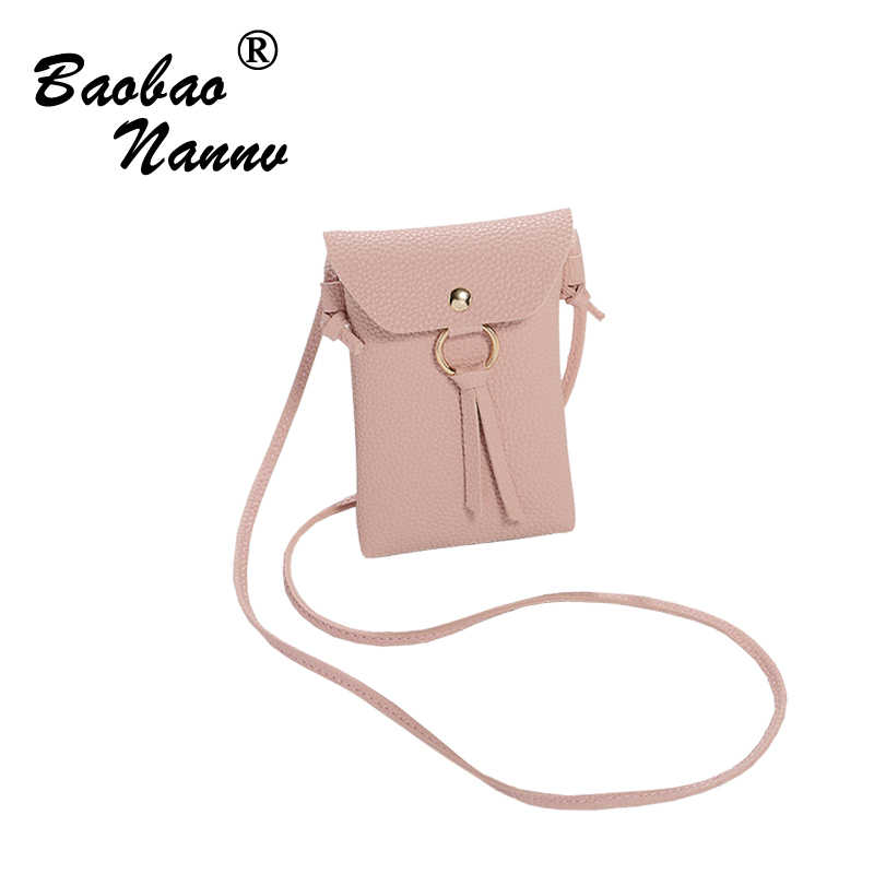 Mini Shoulder Bags Women Students Small Messenger Bags Ladies Simple Solid Phone Bags Female Crossbody Bag for Date Party