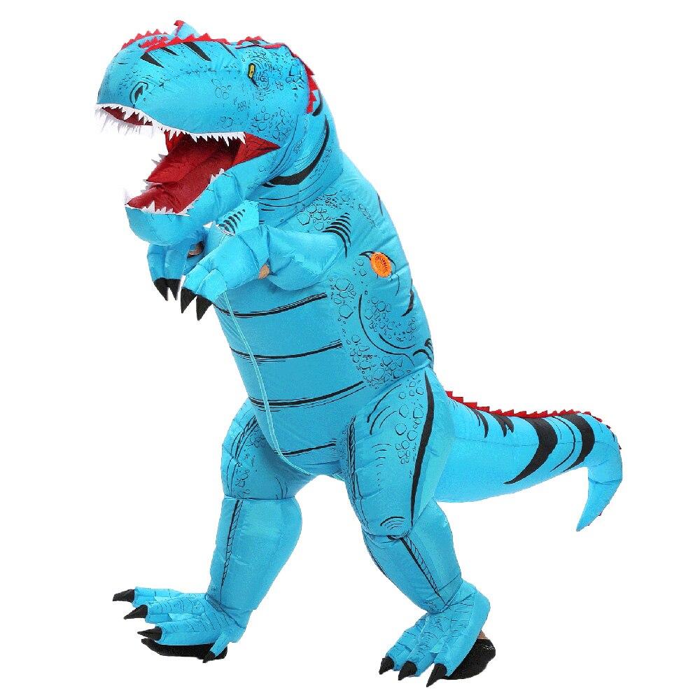 Adult Inflatable Dinosaur Costume t-rex Dinosaur Cosplay Costume (8)