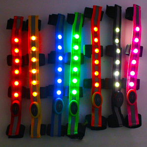 Image 5 - Equestrians Horse Head Straps LED for Horse Riding Horses Night Flash Belt Equitation Harness with Replacable CR2032 Battery