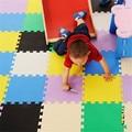 Nova multicolor 9 pçs/lote Exercício Ginásio Piso tapetes de jogo Espuma de EVA Bloqueio de Proteção do bebê tapetes Piso de Azulejo 30X30 cm