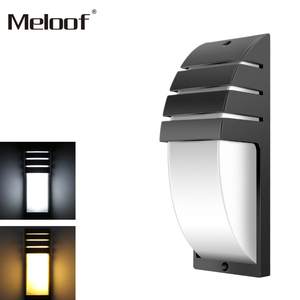 Image 3 - 12W רדאר אינדוקציה LED קיר אור עמיד למים מרפסת אור מודרני הוביל קיר מנורת Motion חיישן חצר גן חיצוני אור