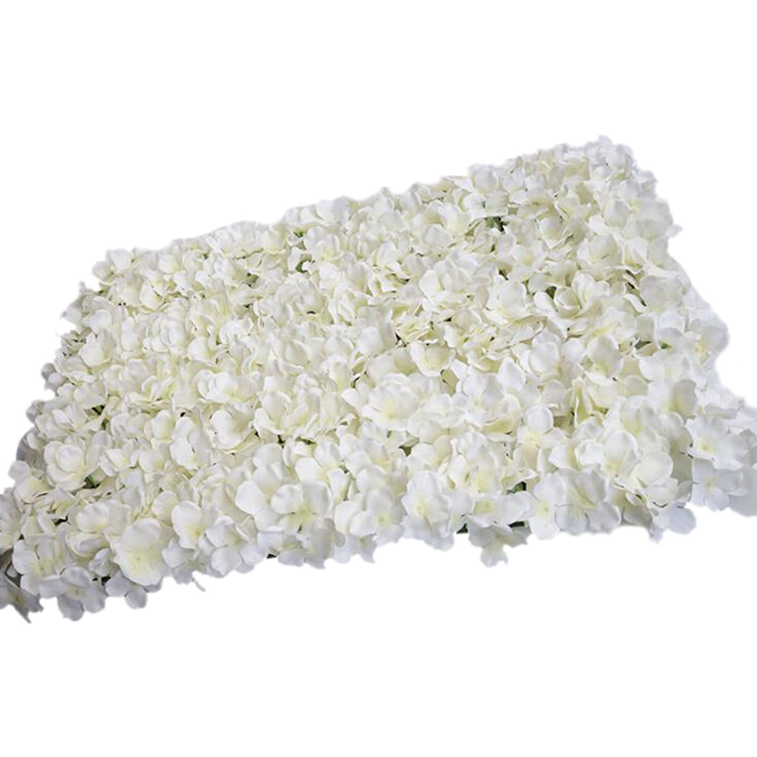 Noble Carpet type Hydrangea DIY wedding Setting wall decoration Road led flower T stage decoration Photo background white
