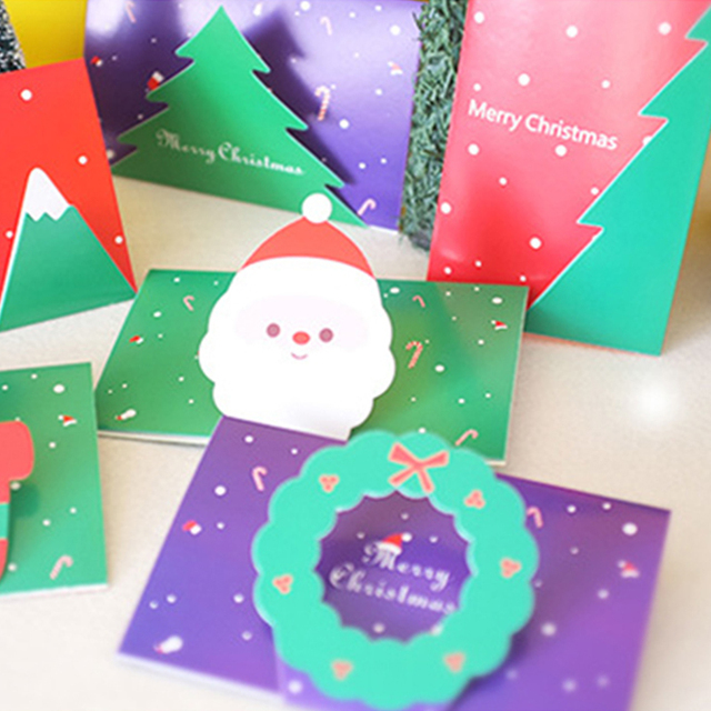1pc fold cards handmade blessing cards christmas thanksgiving cards 1pc fold cards handmade blessing cards christmas thanksgiving cards kids birthday new year festival greeting cards m4hsunfo