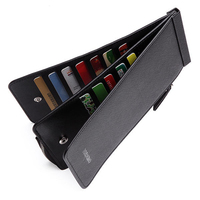 Fashion Men S 6 6 Inches 26 Credit Card Men Business Pu Long Wallet Card Holder