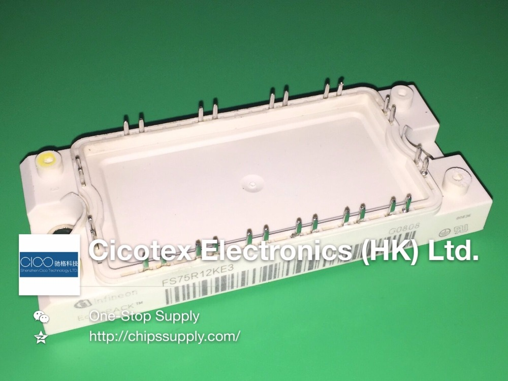 цена FS75R12KE3 Technologies Industrial Power and Controls Americas MODULE IGBT 1200V 75A