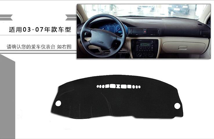 For Volkswagen VW Passat B5 2003 2015 dashboard mat Protective pad Shade Cushion Photophobism Pad car styling accessories