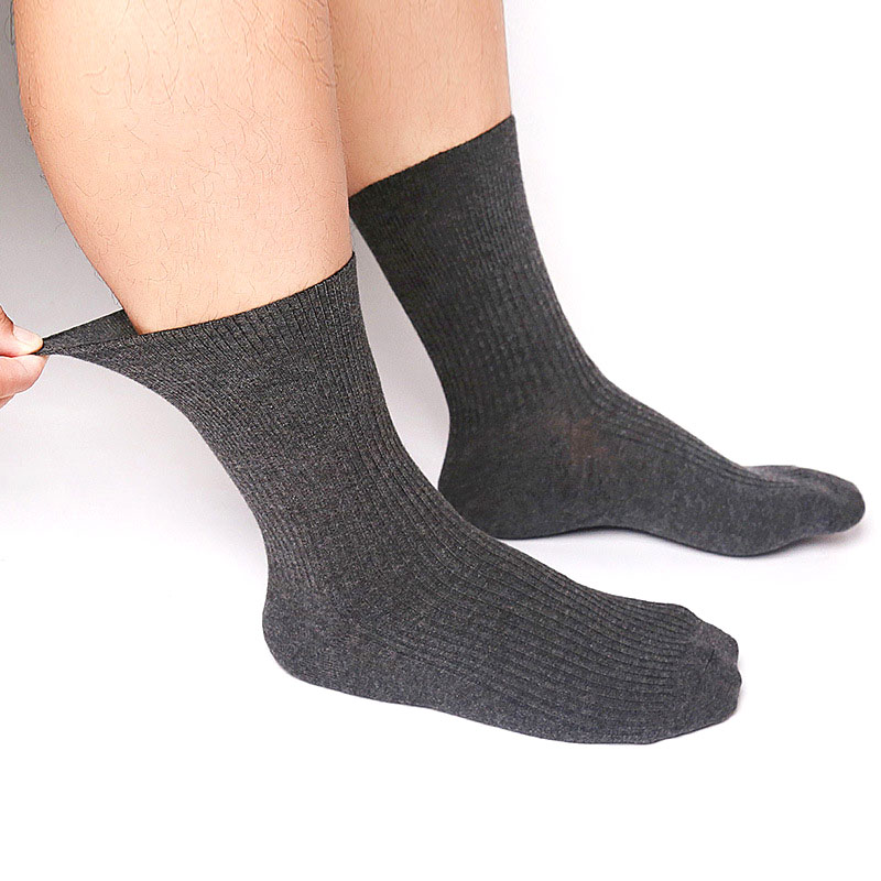 Image 5 - Fcare 10PCS=5 pairs plus size Hypertension Socks Prevent Varicose Veins Socks Causal Diabetic Autumn Winter combed Cotton Socks-in Men's Socks from Underwear & Sleepwears