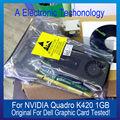 Original Genuine 1 GB Placa Gráfica Para DELL NVIDIA Quadro Display K420 Placa de Vídeo GPU Substituição Testado Trabalho
