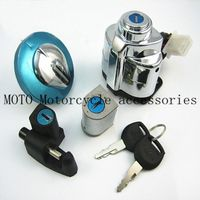 Fuel Gas Cap+Ignition Switch+Seat Lock Keys Fits For Shadow VLX VT 400 600 750 Motorcycle Fuel Gas Cap