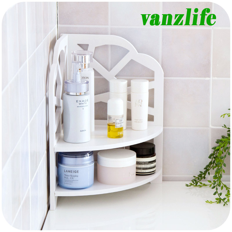 Vanzlife Bathroom Bedroom Countertop Corner Shelf Floor Standing Shelf  Kitchen Bathroom Shelf Multilayer Storage Rack On Aliexpress.com | Alibaba  Group