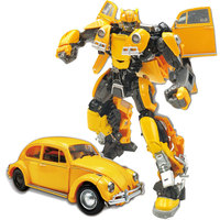BMB H6001 3 Transformation Alloy Bumblebee Movie Action Figure Oversize Beetle Model Collection Oversize Robot Toys Boy Gift