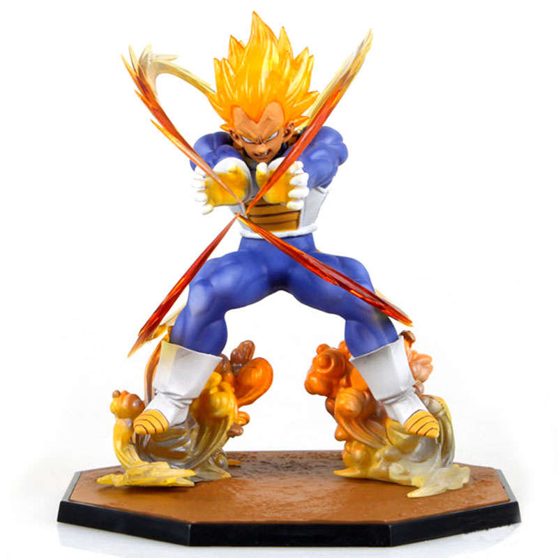 15cm Vegeta Doll Toys Dragon Ball Super Saiyan Vegeta Limited Action Figure