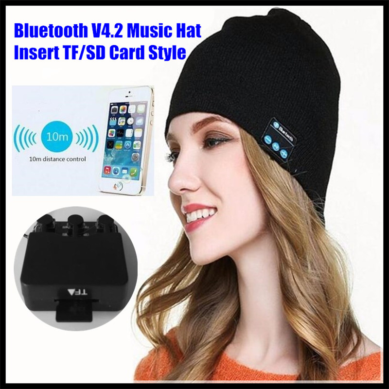 Table Speaker Card Inserts 4: Insert TF/SD Card Slot Wireless Bluetooth V4.2 Winter