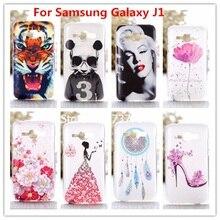 Crystal Diamond 3D case for Samsung GALAXY J1 j100 Bling Shine Hard Protector For fundas Samsung Galaxy J1 2015 J100 J100F