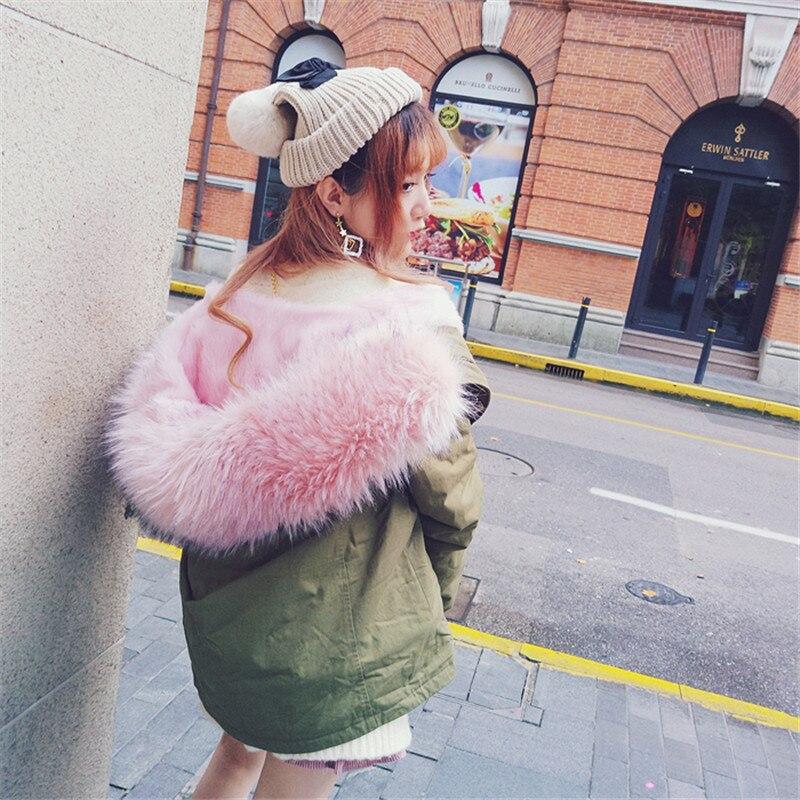 Simulation C1551 Sweet Intérieure Thermique Poudre Manteau Super En Princesse Peluche Lolita Col Keqi C1551 Amovible c1551 Grand Bobon21 Xpq1wXS