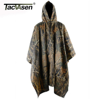 Outdoor Army Camouflage Raincoat Jungle Multifunctional Poncho Hiking Hunting Camping Poncho Mats Scratch Resistant XMLG 002