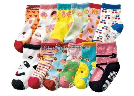Baby Socks Anti Slip Boys And Girls Socks Toddler's Socks Baby Wear