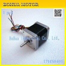 Best 17hs8401 2 phase 4 wire Nema 17 Stepper Motor 42 high torque stepper motor /0.52N/1.8/ engraving machine / 3D printer /(China (Mainland))