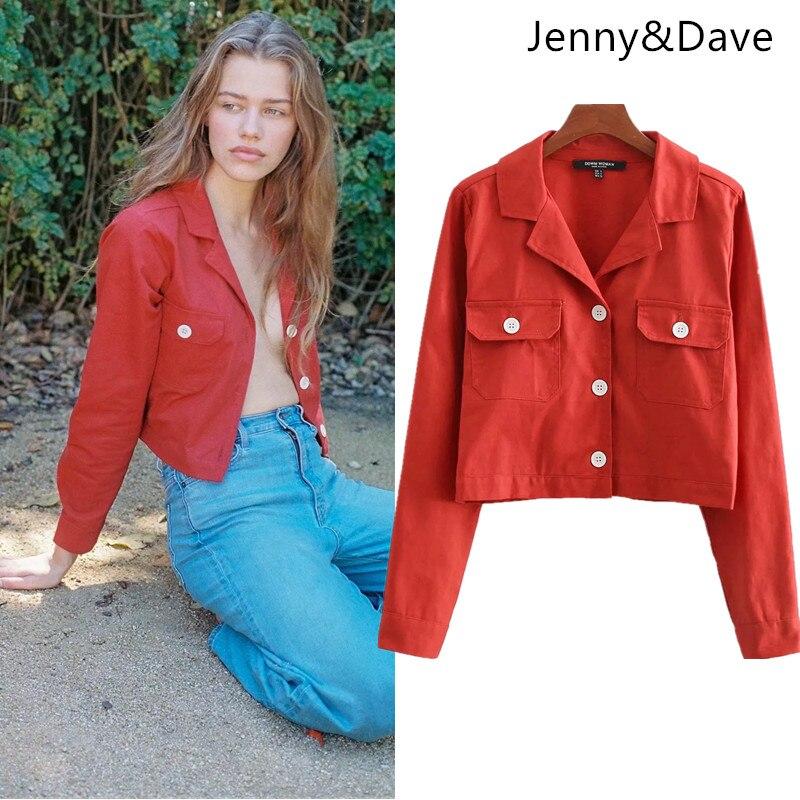 Aliexpress.com  Comprar Jenny   Dave denim chaqueta mujeres harajuku ... 3fed79ed48af2