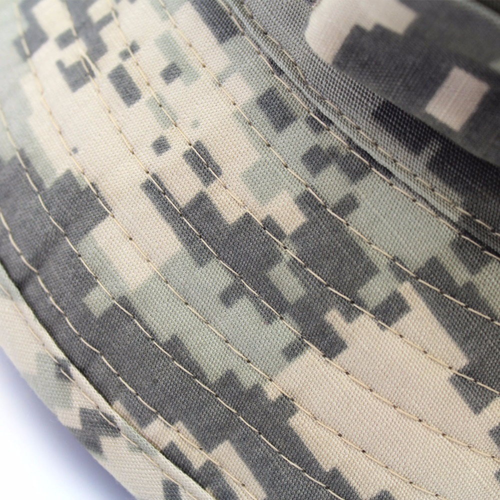 Outfly digitale camouflage Army hat outdoor camping mannen korte bri - Kledingaccessoires - Foto 4