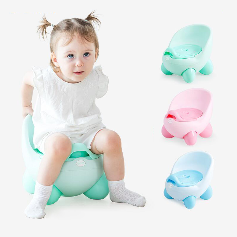 2018 Hot Selling Lovely Egg Baby Potty Chair Plastic QQ Kids Toilet For Free Potty Brush