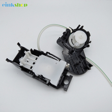 Einkshop New Ink Pump Assembly compatible for Epson R270 R290 R230 R210 R310 R350 Printer Pump Assembly Ink System Assy free shipping 100% working printer accessories for epson r210 r310 original print head in good condition