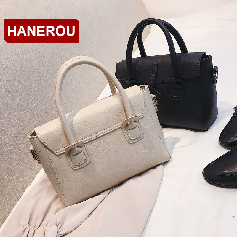 c3379a9ca2f2 Aliexpress.com   Buy HANEROU Luxury Handbags Women Bags Designer Stone  Pattern Female Tote Bag Women PU Leather Handbag Shoulder Bags Bolsa  Feminina from ...