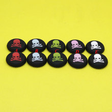 MG121-125  Skull Analog Silicone Joystick Thumbstick Grip Caps for PS4 PS3 XBOX360 XBOX ONE