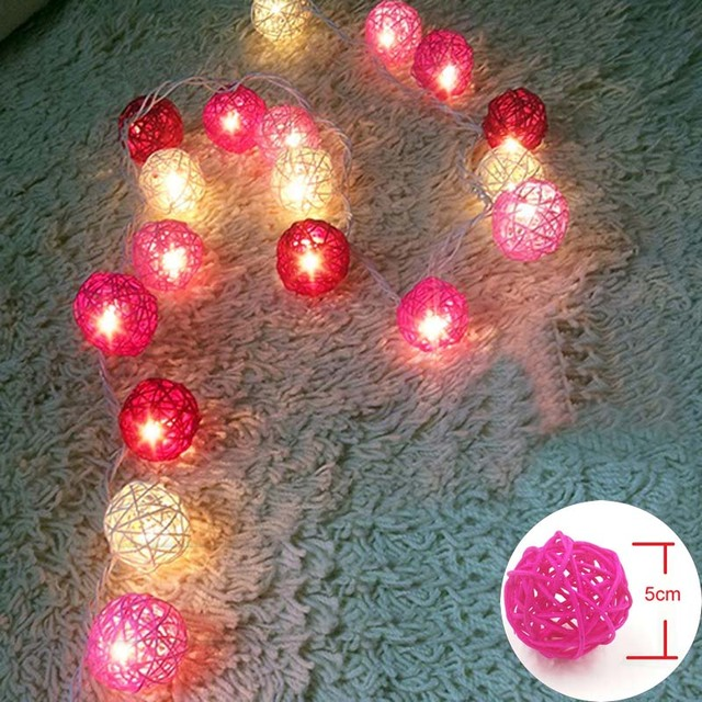 5m 20 led christmas lights outdoor string fairy lights sepak takraw 5m 20 led christmas lights outdoor string fairy lights sepak takraw rattan balls pink white wedding mozeypictures Choice Image