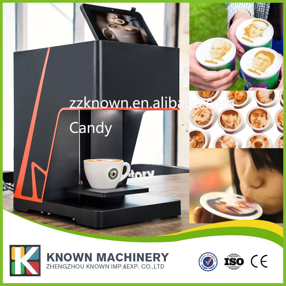 coffee printer machine with WIFI coffee printer food printer inkjet printer selfie coffee printer full automatic latte coffee printe wifi function