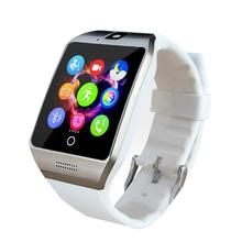 บลูทูธsmart watch apro q18sสนับสนุนnfcซิมแกรมกล้องวิดีโอสนับสนุนa ndroid/iosโทรศัพท์มือถือpk gt08 gv18 u8