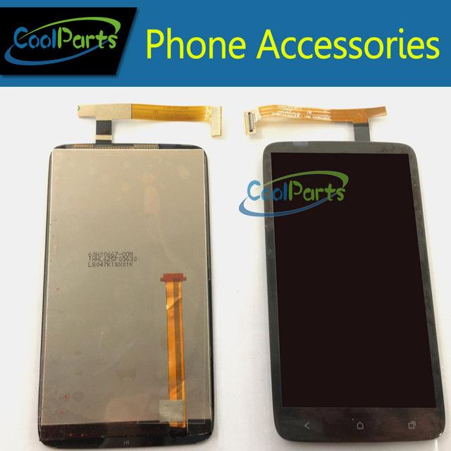 Envío gratis para HTC G23 S720E uno X pantalla LCD y Touch pantalla digitalizador sin marco 1 PC/Lot