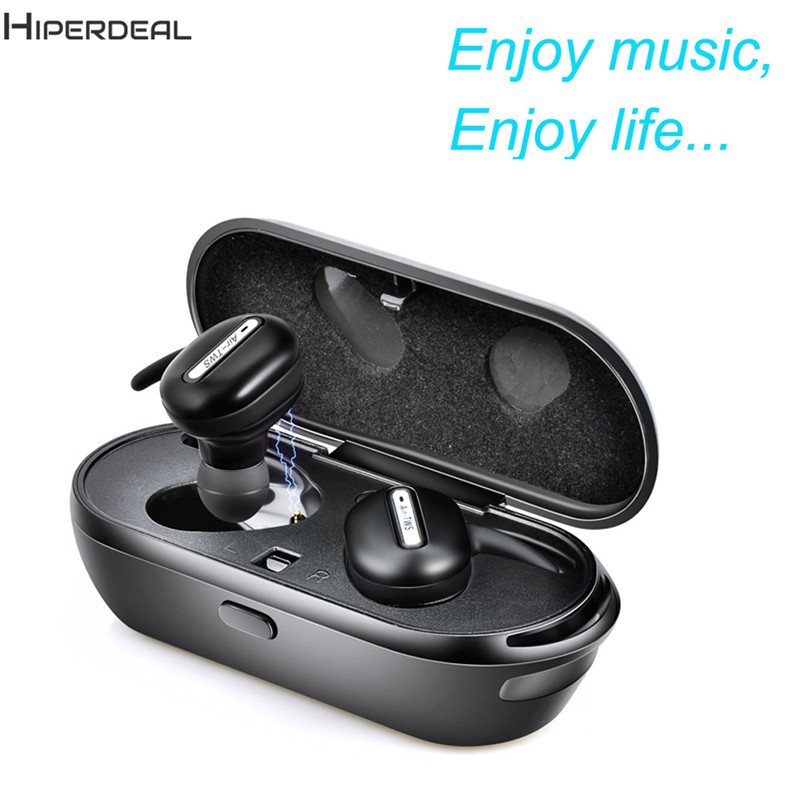 Bluetooth Bluetooth Earphone Mini Wireless In-Ear Earpiece Cordless  Earphones With Microphone For Android Phone Headset DE12b new dacom carkit mini bluetooth headset wireless earphone mic with usb car charger for iphone airpods android huawei smartphone
