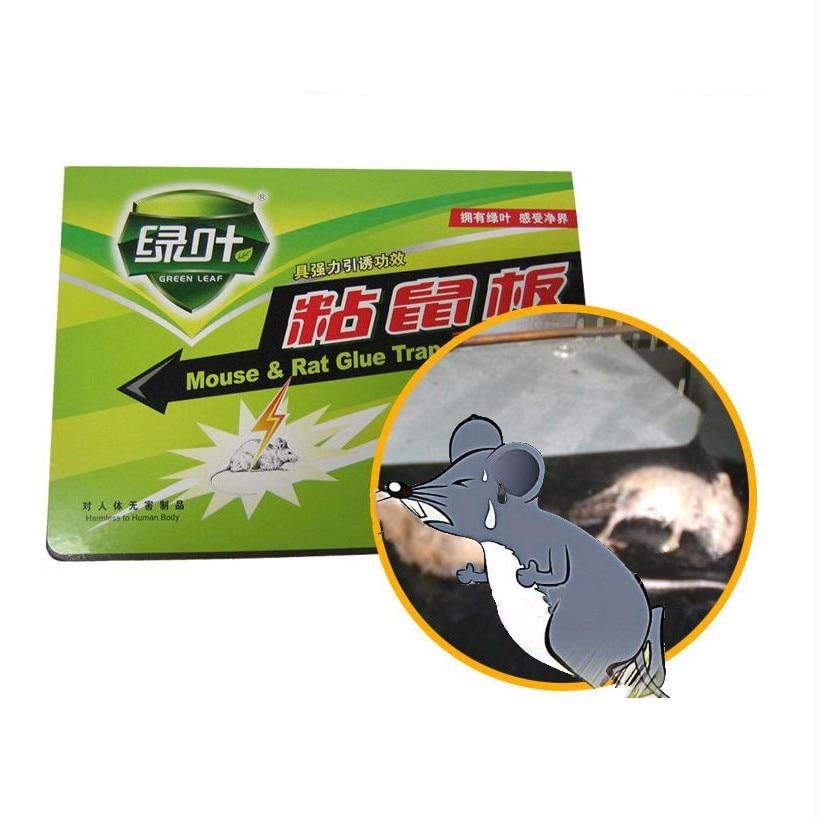 1ks Velmi výkonná myšová deska Sticky Rat Trap Lepidlo deska Myši Repeller Non-toxic muizenval Environmentally Products 26 * 38CM