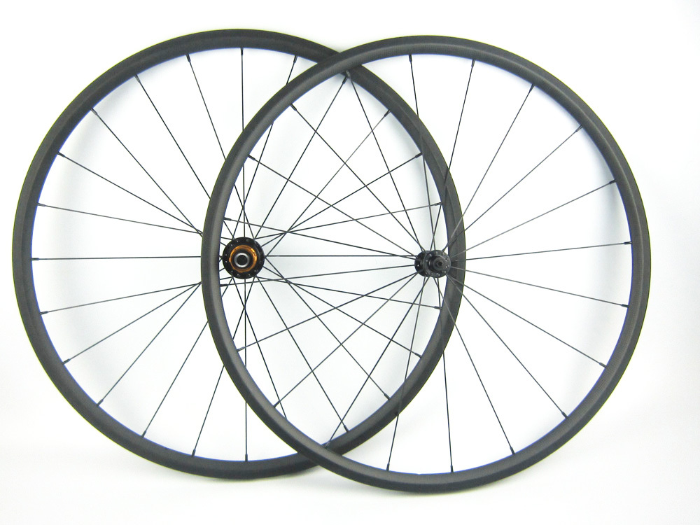 1025g only Super Light Carbon Wheel 20mm Tubular Carbon Road Bike Wheel 700C 23mm Width Pillar 1420 radios /Spokes 1set front and rear 700c road bike wheel bicycle magnesium alloy three spokes parts integrated wheel fixed gear single speed