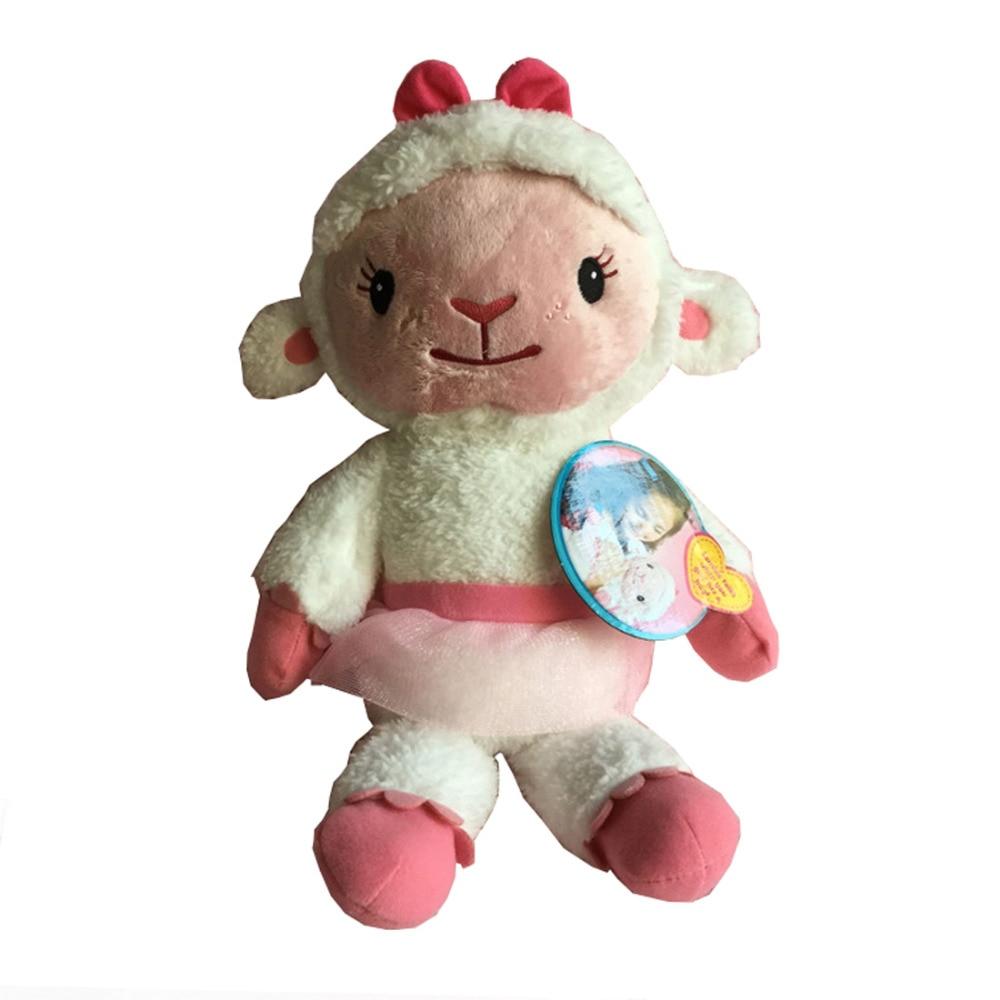 Lambie Plush Doc McStuffins Doll Plush Toys McStuffin Lambie Sheep Cute plush stuffed Doll Soft Animals 36cm
