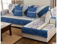 Simple Sofa Cushion Four Seasons Cotton Cloth Towel Living Room Non Slip Combo Solid Wood Common