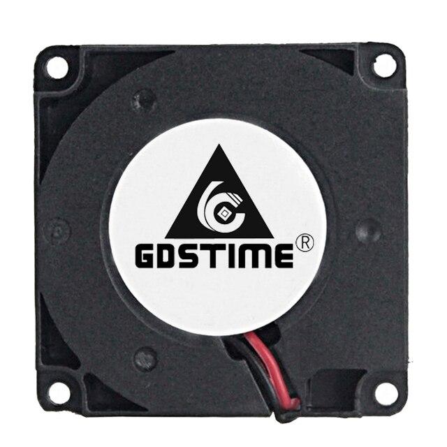 2PCS Gdstime 40mm 3D Printer Fan 12V 24V 5V 4010 Blower Printer Cooling Accessories  DC Turbo Blower Fan Radial Fans 40x40x10mm 1