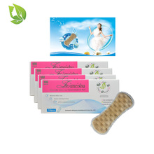 20Pcs/2pack Silver-ion feminine hygiene pads Zimeishu Medical Anion Sanitary gynecological pads cure care pearls vaginal tampons