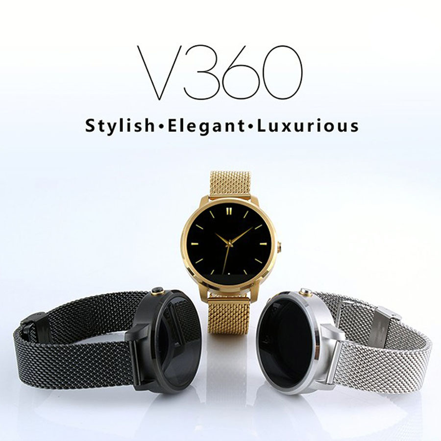 V360 font b Smart b font font b Watch b font for Apple iPhone Huawei Android