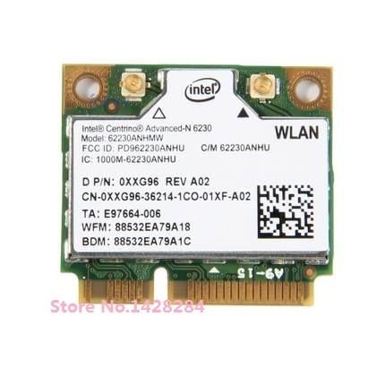 Новинка для Intel центрино Advanced-N 6230 62230 ANHMW Mini PCI-e Wifi Bluetooth 3,0 802,11 a/b/g/n 2,4G/5 GHZ беспроводная карта 300 Мбит/с