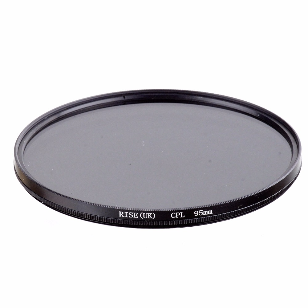 RISE(UK) 95mm CPL CIR-PL C-PL Circular Polarizing Filter For 95MM camra lens size Sigma 50-500mm 650-1300mm