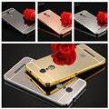 Для Xiaomi Redmi Note 3 Case Роскошный Металлический Алюминий Зеркало Назад крышка Для Redmi Note 4/Redmi Note 2/Hongmi note3 Случаях