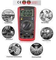 UNI-T UT39B современные цифровые Мультиметры AC DC Кепки Ом Тесты er удержания данных транзисторы Тесты Руководство Диапазон Бесплатная доставка