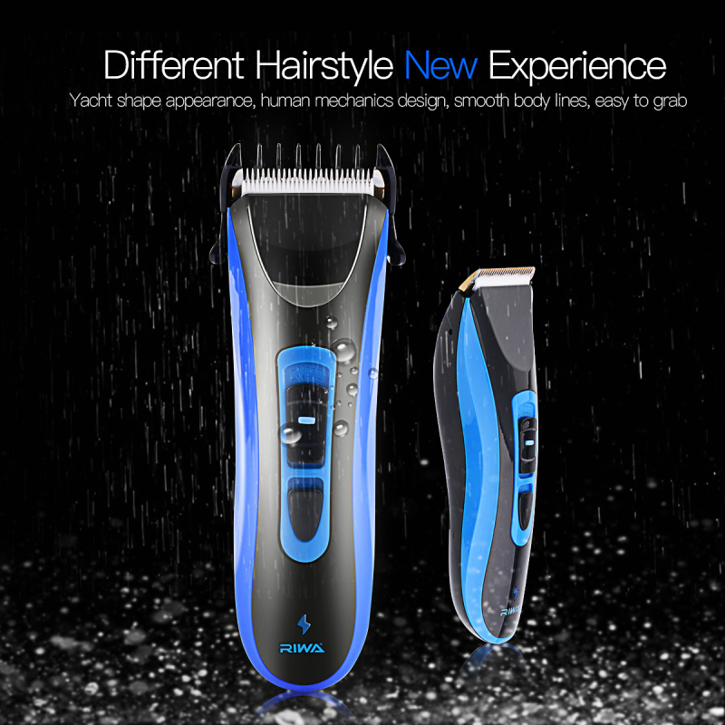 Super Power & Quiet Hair Clipper CE certificated Waterproof Professional Rechargeable Electric Hair Trimmer Hairdresser Use S37 lonbv lch 8561 12w rechargeable super mute hair clipper silver 220v