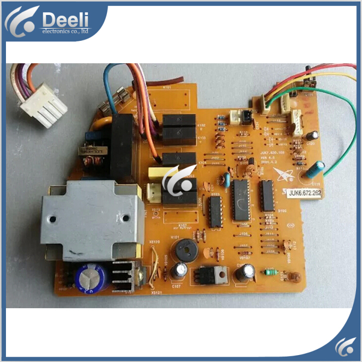 все цены на 95% new good working for Changhong air conditioning motherboard Computer board JUK6.672.262 JUK7.820.168 board good working онлайн