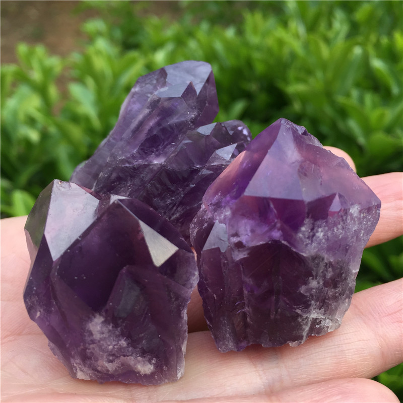 Rare Natural Quartz Crystal Point Gem Sphere Mineral Rock Healing Ball Stone Lot